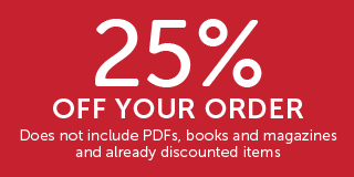 25% off on your order